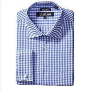 Like New Stacy Adams Dress Shirt Sz 17.5